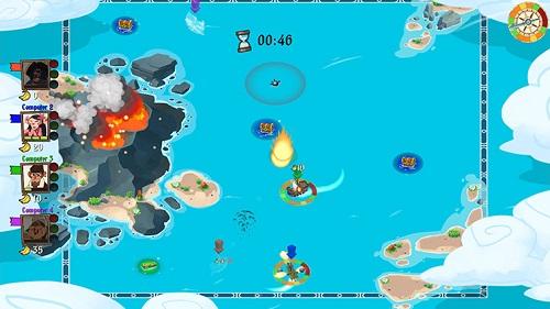 Monkey Pirates Gameplay
