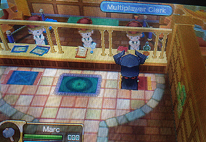 Multiplayer Clerk in Fantasy Life