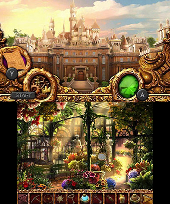 Mystery Murders: The Sleeping Palace 3DS Gamepaly