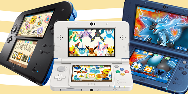 New Pokemon 3DS Themes for the Nintendo 3DS