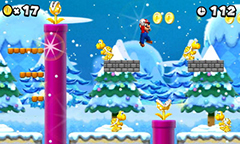 New Super Mario Bros. 2 Gameplay - Coins