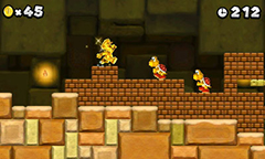 New Super Mario Bros. 2 Golden Flower Mario Gameplay