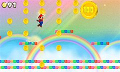 New Super Mario Bros. 2 Rainbow Course Gameplay