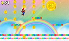 New Super Mario Bros. 2 Rainbow Course Gameplay