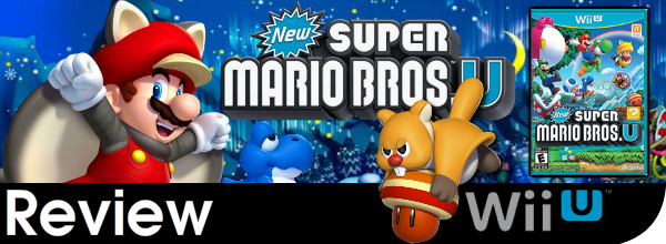 New Super Mario Bros U. Review (Wii U)