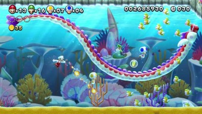 New Super Mario Bros U. Gameplay