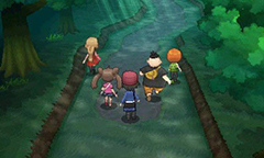 Pokemon X and Y Friends Walking