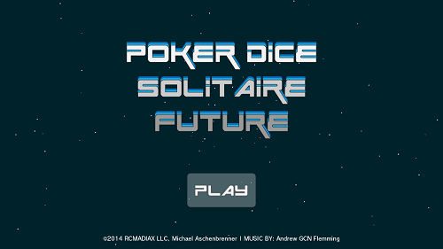 POKER DICE SOLITAIRE FUTURE Gameplay (Wii U)