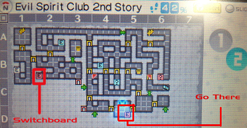 Evil Spirit Club 2nd Story labyrinth 42% completed - Persona Q