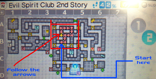 Directions for the Evil Spirit Club 2nd Story labyrinth - Persona Q
