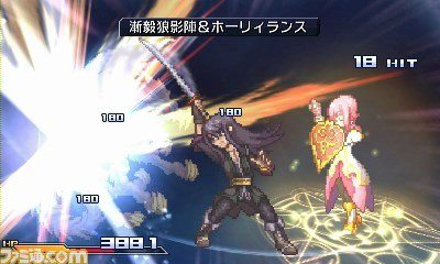 Project X Zone gameplay