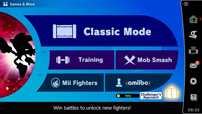 Rechallanging characters in Super Smash Bros. Ultimate