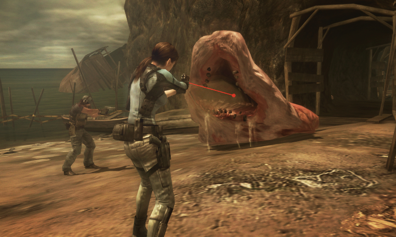 Who knew the lake monster from Resident Evil 4 had children?