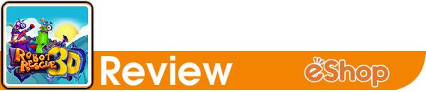 Robot Rescue 3D for Nintendo 3DS - Review