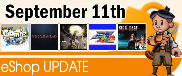 New Content on eShop - September 11th