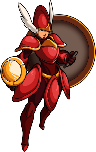 Shovel Knight  partner and beloved friend.