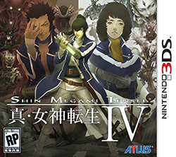 Shin Megami Tensei IV 3DS Game Box Cover Art