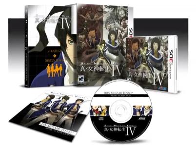 Shin Megami Tensei IV Collector's edition for 3DS