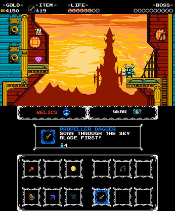 Shovel Knight 3DS Gameplay