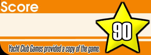 Shovel Knight 3DS Review Score
