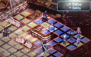 Shin Megami Tensei: Devil Survivor Overclocked Grid Style Battlefield