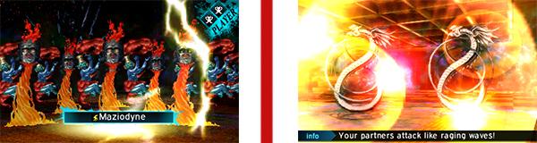 Battle scenes in Shin Megami Tensei 4: Apocalypse