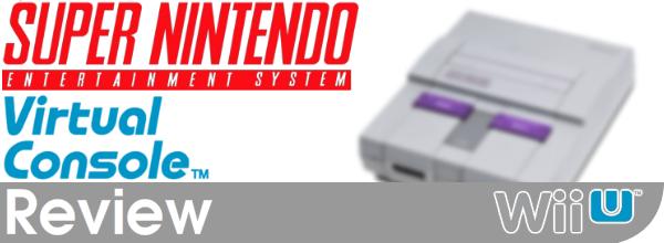 SNES Virtual Console Review (Wii U eShop)