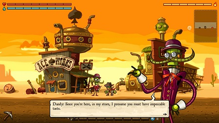 SteamWorld Dig Gameplay (Wii U)