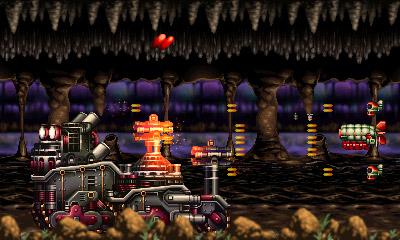 Steel Empire Gameplay (3DS eShop)