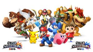 Super Smash Bros for 3DS and Wii U Character List