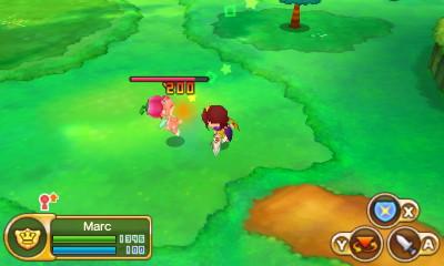 Combat in Fantasy Life
