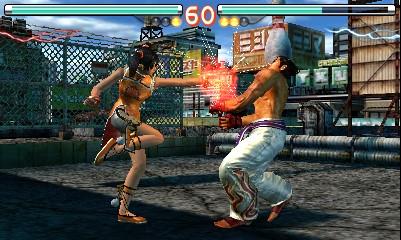 Tekken 3D Prime Edition Gameplay