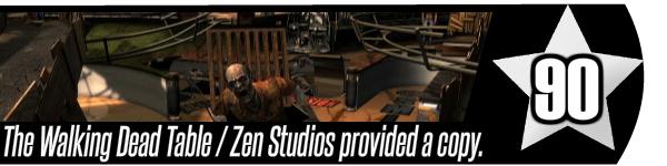 The Walking Dead Table Review - Zen Pinball 2