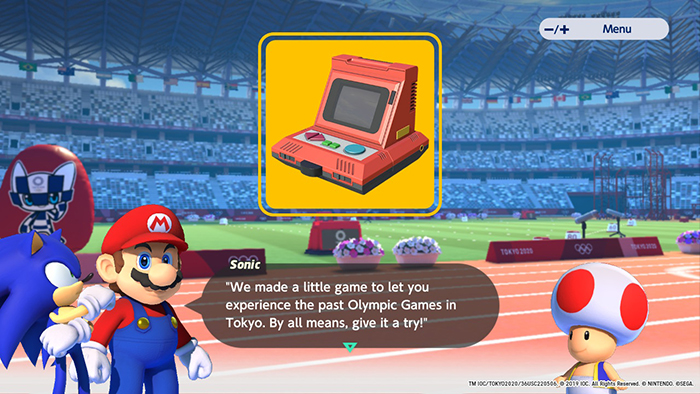 Tokyo 64 from Mario & Sonic at the Olympic Games Tokyo 2020