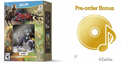 The Legend of Zelda: Twilight Princess HD and Wolf Link bundle