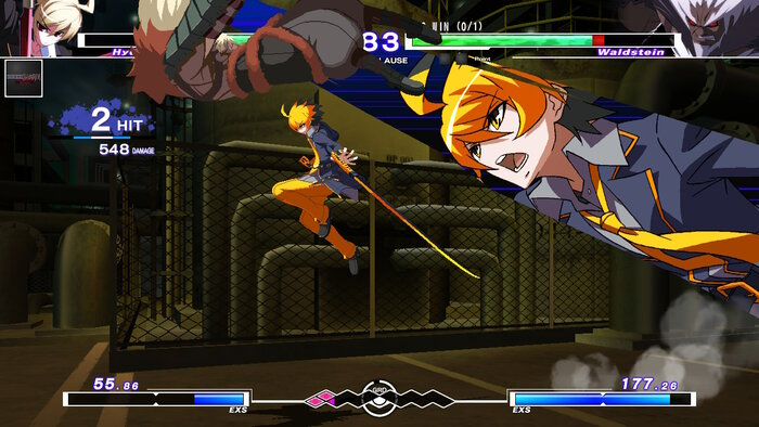Hyde doing a EX special in Under Night In-Birth Exe: Late [cl-r]