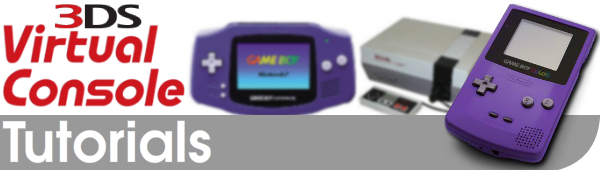 Virtual Console Special Features Tutorial