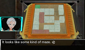 Maze Puzzle in Virtue's Last Reward