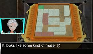 Maze Puzzle in Virtue's Last Reward