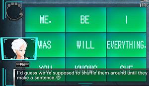 Word Puzzle in Virtue's Last Reward