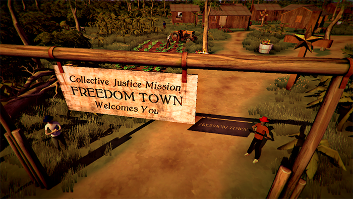 Freedom Town Entrance