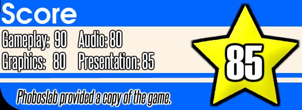 XType Plus Review Score (Wii U)