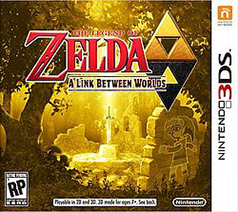 No 3DS Box Art for The Legend of Zelda: A Link Between Worlds