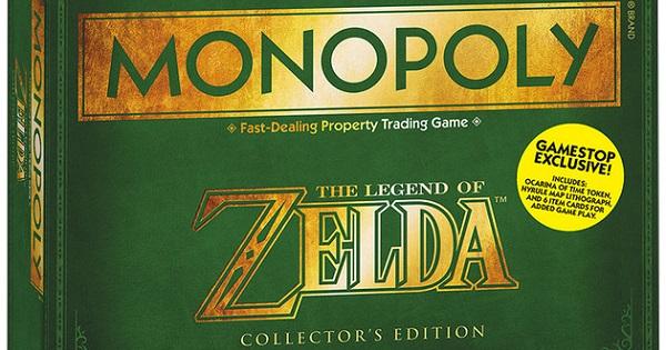 zelda monopoly banner