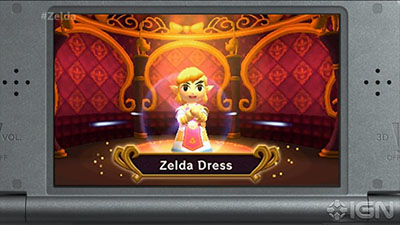 Zelda Dress - Legend of Zelda: Triforce Heroes