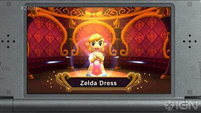 Zelda Dress - Legend of Zelda: Triforce Heroes